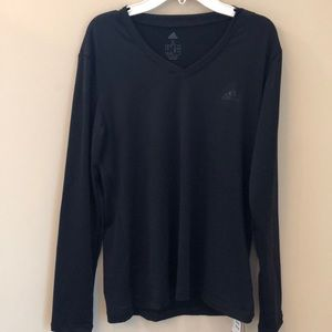 Adidas women's climate, black, athletic top size S